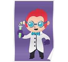 Cute Scientist Poster
