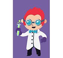 Cute Scientist Photographic Print