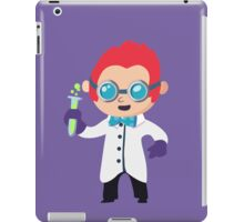 Cute Scientist iPad Case/Skin