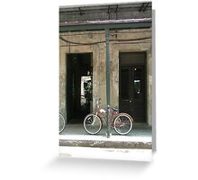 Tethered - New Orleans, Louisiana, USA Greeting Card