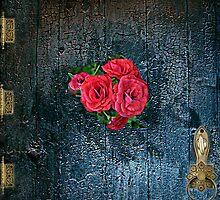 Cottage Door by Linda Miller Gesualdo