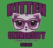 Kitten University - Purple Kids Clothes