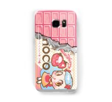 bessette strawberry-choco Samsung Galaxy Case/Skin