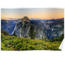 Twilight at Glacier Point Poster