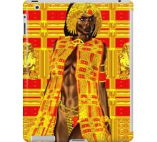 Black Egyptian Princess Fantasy Scene. iPad Case/Skin