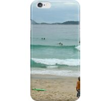 Copacabana beach, Rio iPhone Case/Skin