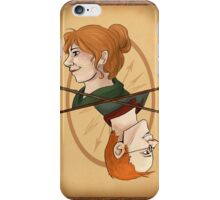 Molly and Arthur Weasley iPhone Case/Skin