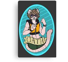 Oath Badge Canvas Print
