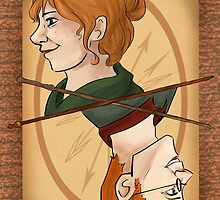 Molly and Arthur Weasley by imaginativeink