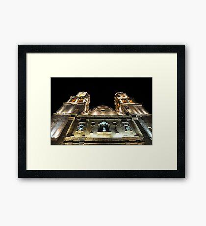 Catedral de Nuestra Señora de la Purísima Concepcíon Framed Print