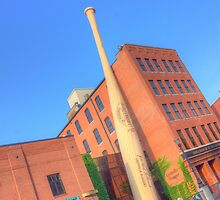 Louisville Slugger Museum by DevereauxPrints