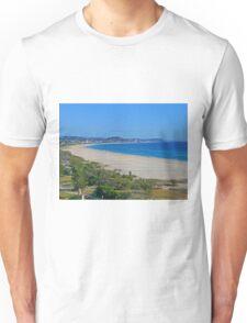 Looking north from Kirra Beach, Queensland, Australia Unisex T-Shirt