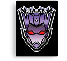TFxGB - Evil Gozerian (Faction Head) G1 METAL Canvas Print