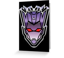 TFxGB - Evil Gozerian (Faction Head) G1 METAL Greeting Card