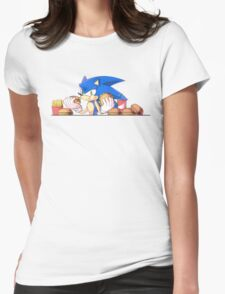 Hungry - Sonic the Hedgehog Womens Fitted T-Shirt