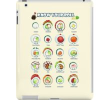 Know Your Roll - Cute Educational Sushi iPad Case/Skin