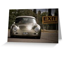 Porsche 356 Outlaw Greeting Card