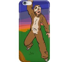 Hanging Slothman iPhone Case/Skin