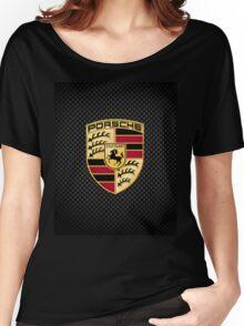 Stuttgart Carbon Fibre iPhone / Samsung Galaxy Case Women's Relaxed Fit T-Shirt