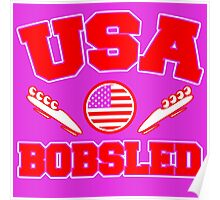 USA BOBSLED Poster