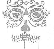 sugar skull by MrBrightsidee