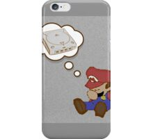 Mario Dreams of Dreamcast iPhone Case/Skin