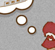 Mario Dreams of Dreamcast Sticker
