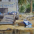 The Old Boat Shed - Woronora by Fiona  Lee