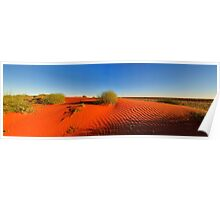 Simpson desert dunes Poster