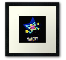 Hangry Kirby Framed Print