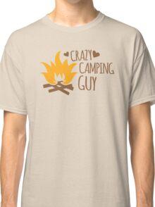 Crazy Camping Guy Classic T-Shirt