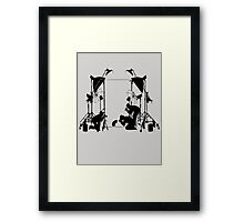 Funny Cat Pictures  Framed Print