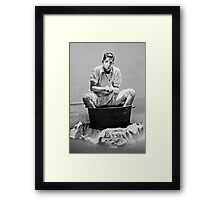 Ice Carving in Mexico ...Art Unit 1984 Framed Print