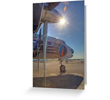 N836D -- a Classic Restored Greeting Card