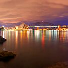 Sydney from the rocks by donnnnnny