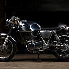 Honda SR400 Cafe Racer by FuelMagazine