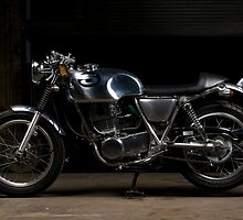 Honda SR400 Cafe Racer by FuelMagazine
