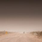 Duststorm in Central Australia by JSumpton