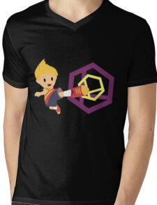 Lucas Super Smash 4 WiiU Mens V-Neck T-Shirt