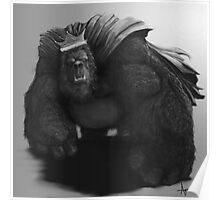 Gorilla King Poster