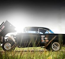 1956 Chevy Gasser by FuelMagazine