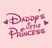 Daddy's little Princess cute! Kids Tee