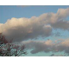 Regular cloudy day Photographic Print