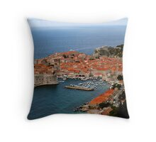 Dubrovnik, The Pearl of the Adriatic Throw Pillow