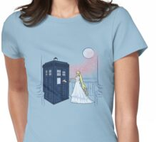 Doctor Moon Womens Fitted T-Shirt