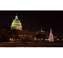 Christmas at the Capital  Photographic Print