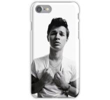 Ansel Elgort - Black & White iPhone Case/Skin