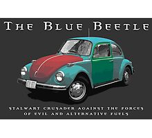 The Blue Beetle Photographic Print