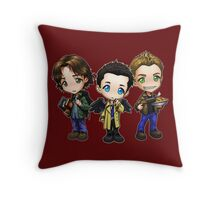 Team Free Will - Chibi Style Throw Pillow
