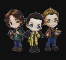 Team Free Will - Chibi Style One Piece - Short Sleeve